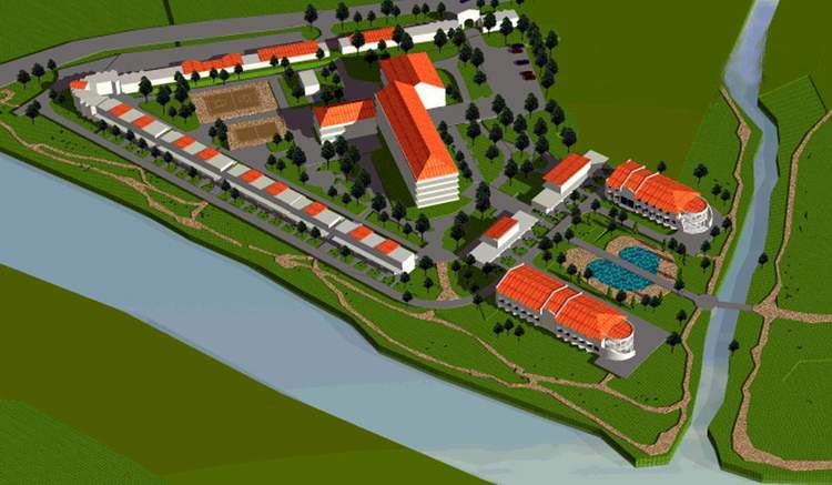 План строительства базы отдыха